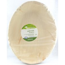 Palm Leaf Deep Salad Bowl 12x9inch P25x4