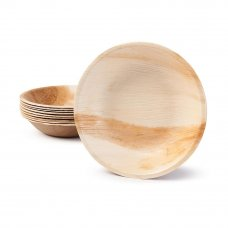 Palm Leaf Round Bowl 6.5inch P10x10