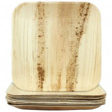 Palm Leaf Square Plate 10inch P10x10