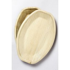 Palm Leaf Medium Platter 14x10inch P2x5