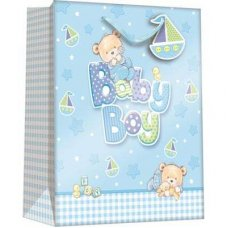 Baby Bear Boy (Z303M) Medium Gift Bag 1