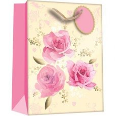 Beautiful Roses (Z309M) Medium Gift Bag 1