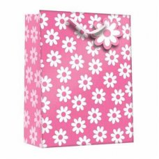 Daisy Pink (Z401L) Large Gift Bag 1