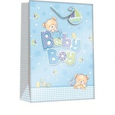Baby Bear Boy (Z303XL) X-Large Gift Bag 1