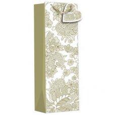 Gold Elegance (Z541B) Gift Bottle Bag 1