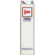 White Gala Crepe Paper P1