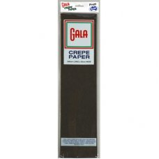 Black Gala Crepe Paper P1
