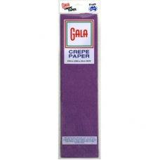 Purple Gala Crepe Paper P1