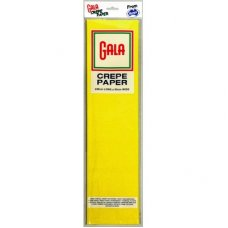 Canary Yellow Gala Crepe Paper P1