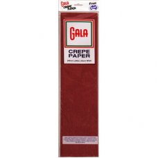 Maroon Gala Crepe Paper P1