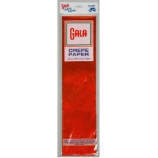 Metallic Red 100cm x 50cm Gala Crepe Paper P1