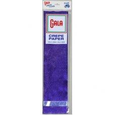 Metallic Blue 100cm x 50cm Gala Crepe Paper P1