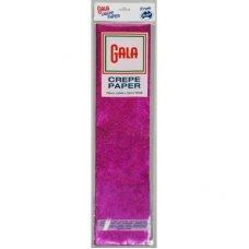 Metallic Cerise 100cm x 50cm Gala Crepe Paper P1