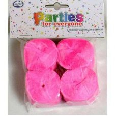Bright Pink Crepe Streamer P4