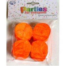 Orange Crepe Streamer P4