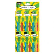 Crayons Assorted Colours Box 4