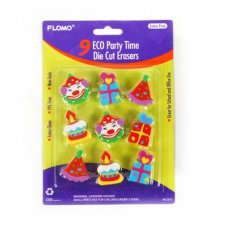 Erasers Party Shapes P9