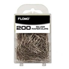 Paper Clips Silver 33mm P200