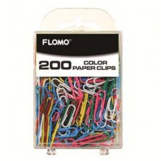 Paper Clips Assorted Colours 28mm P200