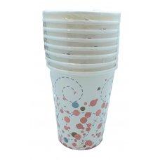 Sparkling Fizz Rose Gold 9oz Cup P8