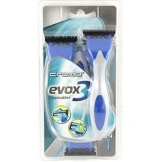 Croma Evox 3 Blade Mens Disposable Razors P4