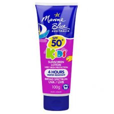 Marine Blue Sun Screen Lotion 50+ KIDS E/Day 4Hrs 100g Tube