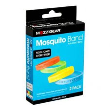 Mozzigear Mosquito Bands Adults 2pk