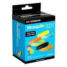 Mozzigear Mosquito Bands Kids Value 6pk