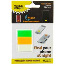 Find at Night Visible 247 Phone Markers Large Pk 3