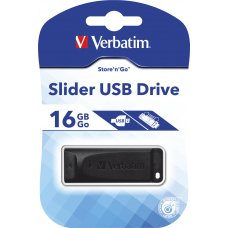 16GB USB Store 'n' Go Slider P1
