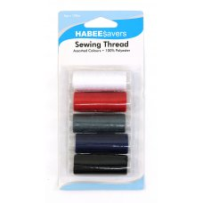 Thread Assorted Colours 120m P5