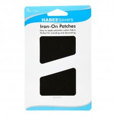 Iron Patches Black P2