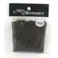 Bobby Pins U Shape Black P72