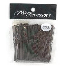 Bobby Pins U Shape Brown P72