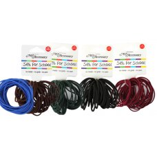 Hair Ring School Assortment Thick P24