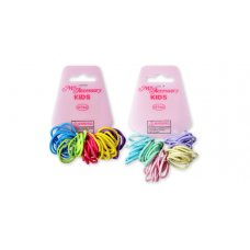 Hair Ring No Metal Mini Size Bright & Pastel P40