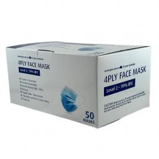 Face Masks 3ply Level 1 TGA Approved Box 50