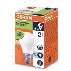 Osram Halogen Edison Screw Frosted 46w Box 20