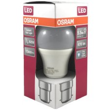 Osram LED Bayonet Cap Day Light 5.5w 480Lm Box 10