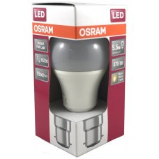 Osram LED Bayonet Cap Warm White 5.5w 470Lm Box 10
