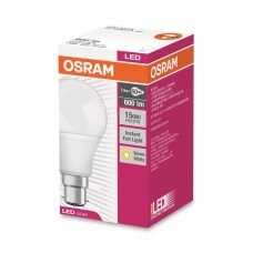 Osram LED Bayonet Cap Warm White 9w 806Lm Box 10