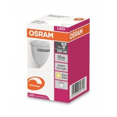 Osram LED Down Light GU10 Warm White 240v 3.3w Box 20