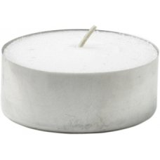 Candle TeaLights 39mm dia. 6hour White Ctn360