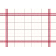 Napkin Towel 38x54cm Red Ctn250