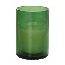 Candle&Holder Glass119x83mm