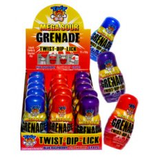 TNT Mega Sour Grenade 50g Box 15