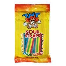TNT Sour Straps 150g Box 12