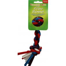 Toy Jolly Rope Bone Small Pk