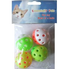 Toy Cat Balls 4Pk