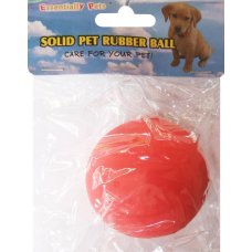 Toy Solid Rubber Ball Pk